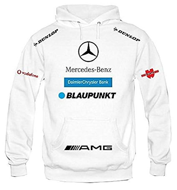 Sudadera con capucha mercedes racing personalizado (M)