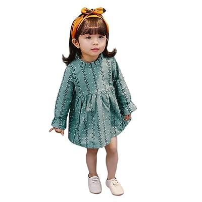 WARMSHOP Children Kids Winter Fleece Jackets 2-7 Years Old