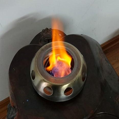 Amazon.com : Ezyoutdoor Spirit Stove Alcohol Burners Spirit Burner Stove Furnace Trekking Cookset with Stand for Camping Picnic BBQ Bivouac Kitchen ...