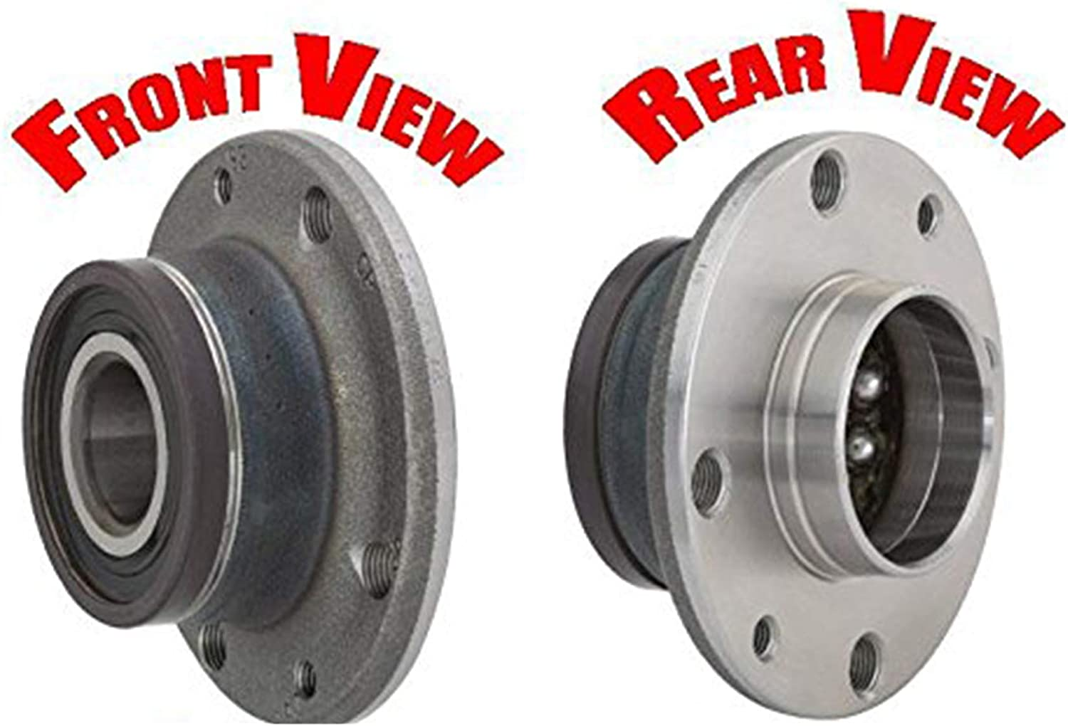 100/% New Wheel Bearing and Hub Assembly Rear 512480 fits 12-16 Fiat 500 Rear 2