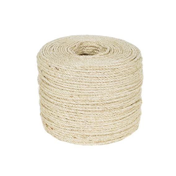 Golberg Twisted Sisal Rope Available in 1/4, 5/16, 3/8, 1/2