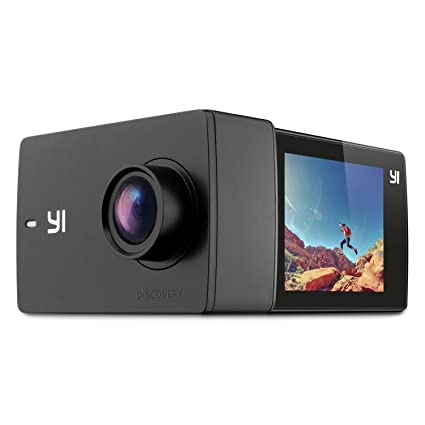 YI Discovery Action Camera 4K Sports Cam With 20quot Touchscreen Built In