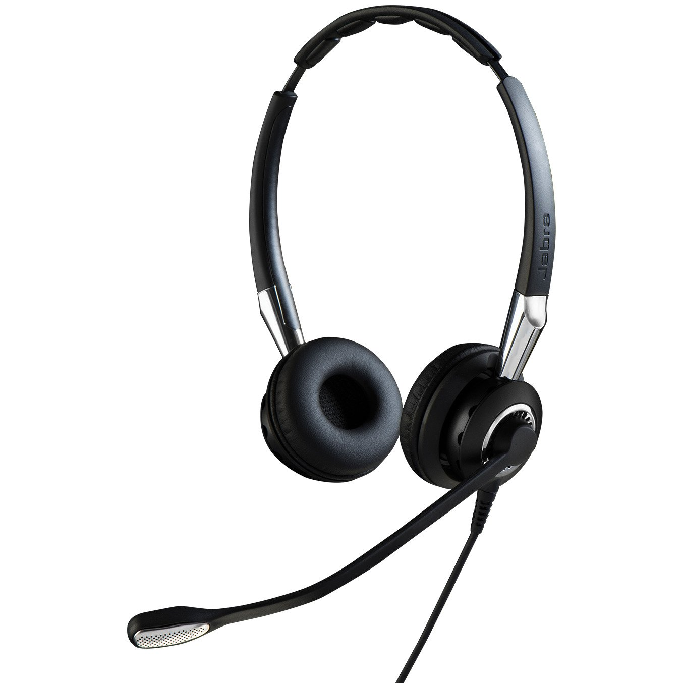 Jabra 2400 II QD Duo NC Wired Headset - Black