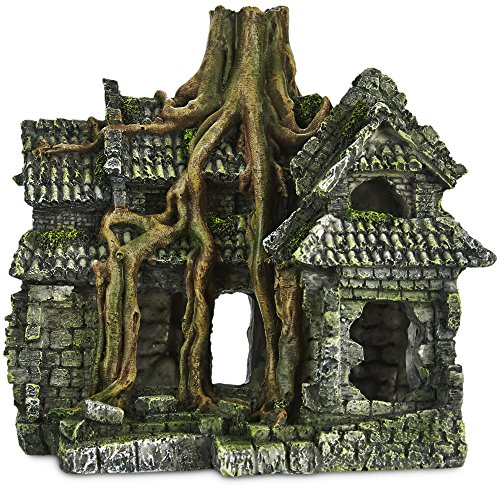 Imagitarium Resin Cambodian Ruin Aquatic Decor, Standard, Multi-Color