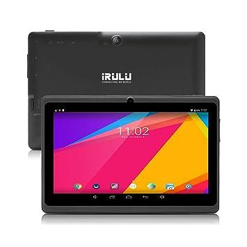 Tablet 7 Pulgadas Android 8.1 Quad Core 1024x600 Doble Cámara WiFi Bluetooth 1GB/8GB Google