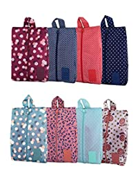 Portable Shoe Bags for Travel Multifunctional Oxford Shoe Storage and Organization with Zipper Closure