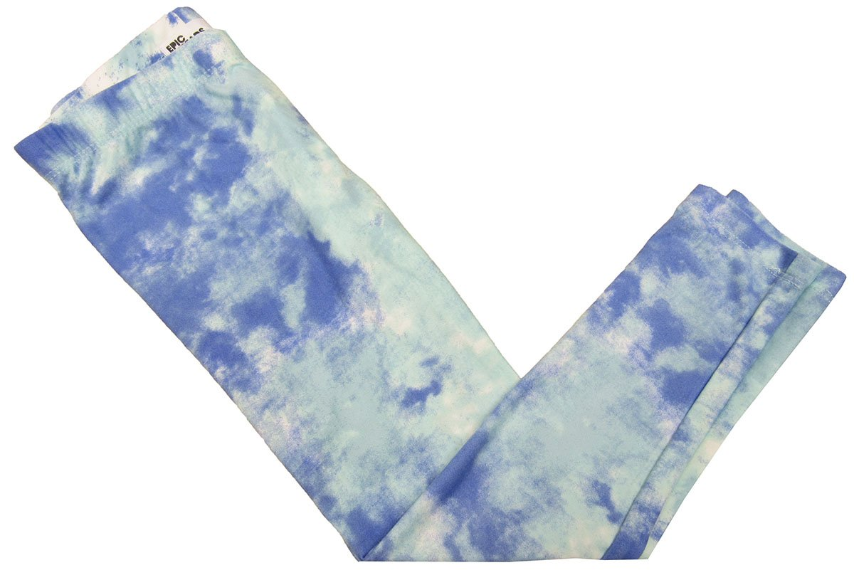 Epic Threads Little Girls' (2T-5T) Tie Dyed Leggings Glass 2T/2