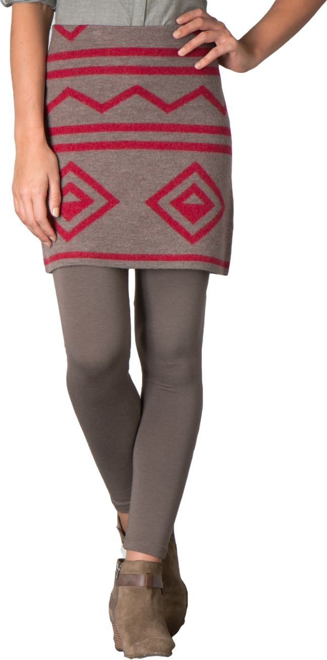 Toad & Co Diamond Sweater Skirt - Women's Falcon Brown Heather Medium