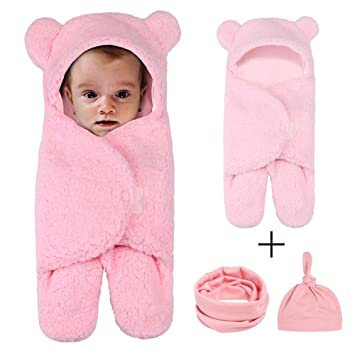 Amazon.com: Manta para recién nacido, para bebé, manta de ...