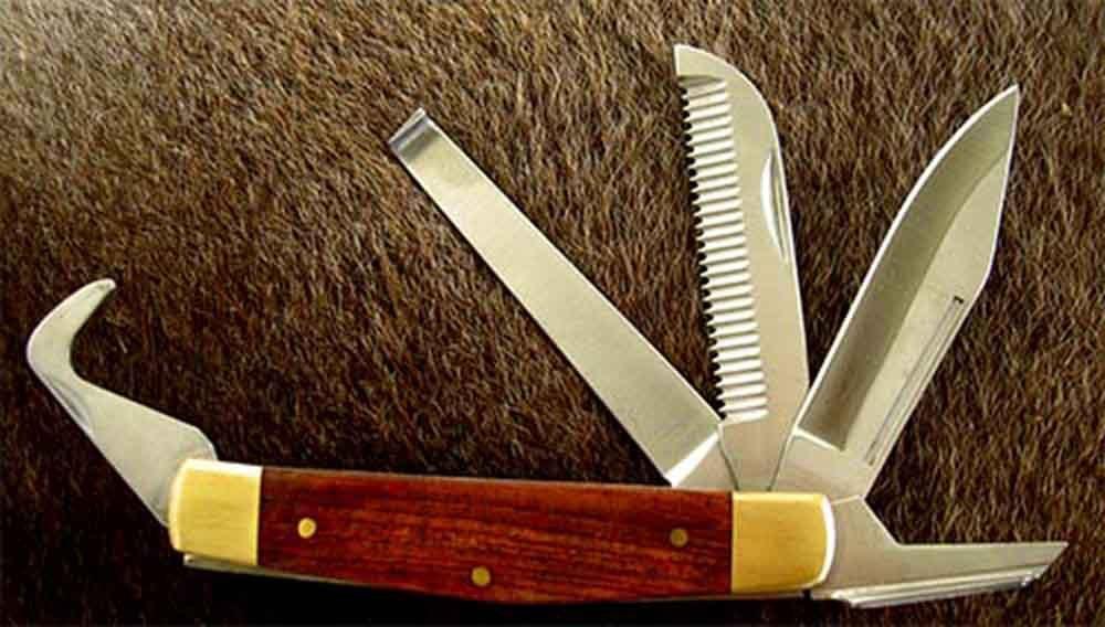 Horse Care Farrier Tool Hoof Knife Tool Comb Pick Grooming 98445