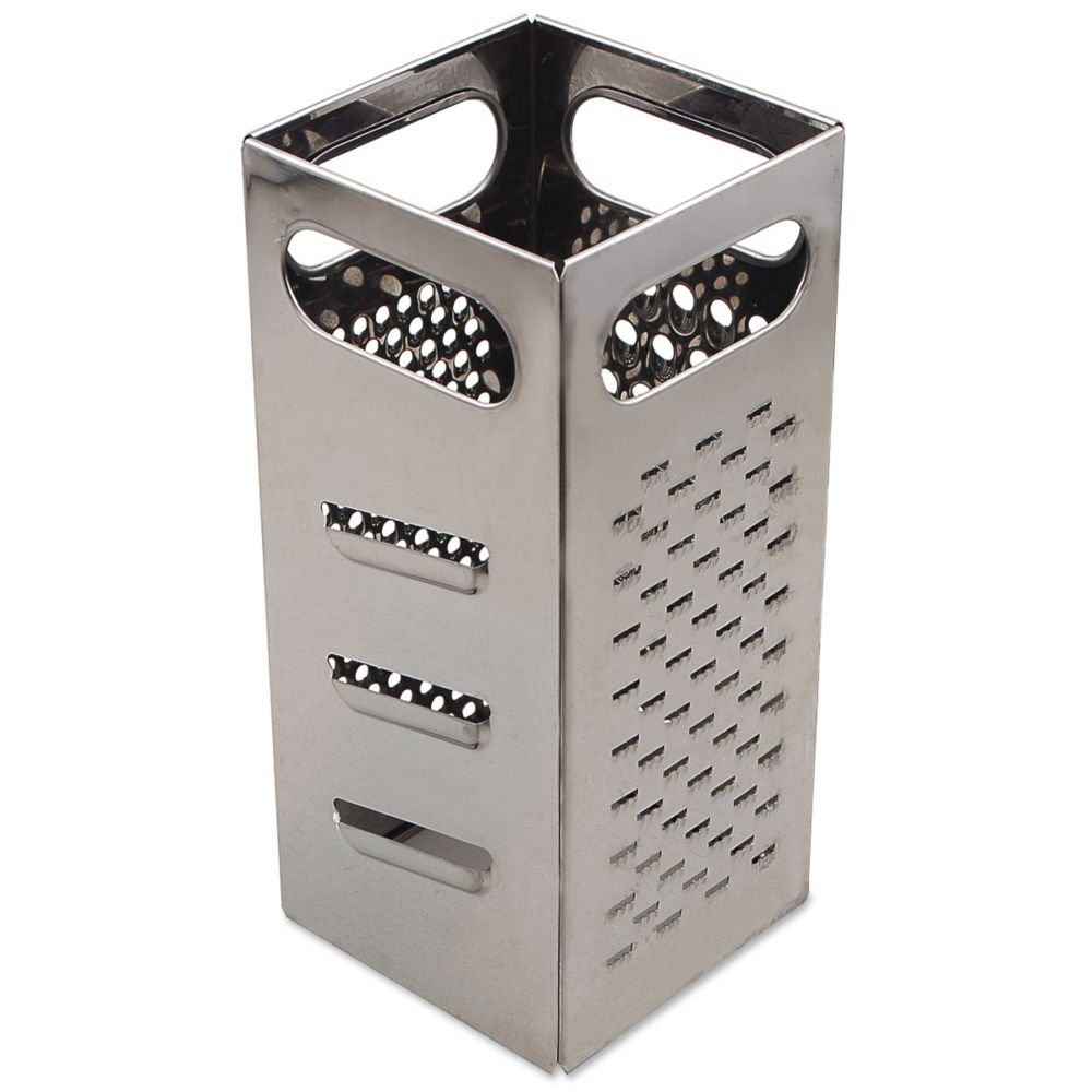 Browne (SSG449) 9'' x 4'' Stainless Steel Square Grater