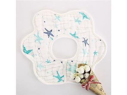 Babero de miga de comida Toalla babero babero impermeable babero impermeable para bebés y niños pequeños
