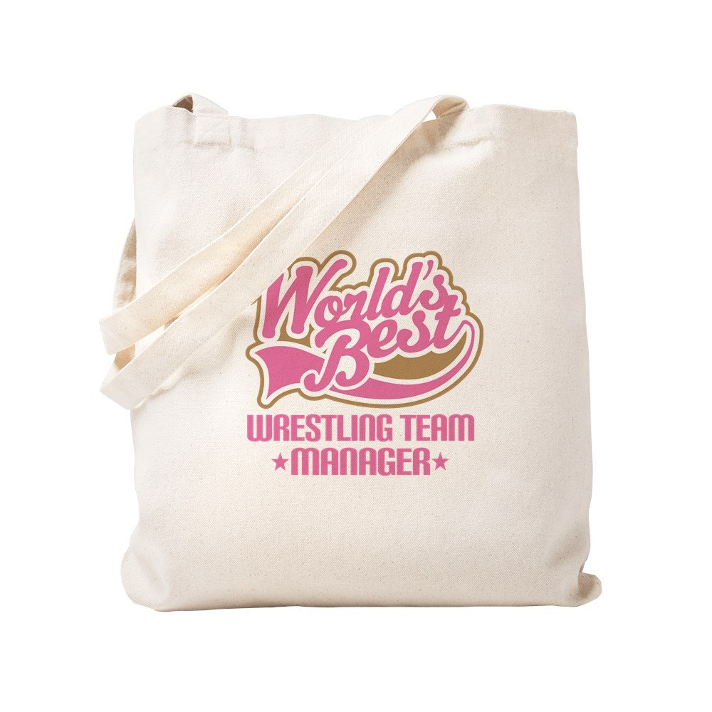CafePress - Wrestling Team Manager - Natural Canvas Tote Bag, Cloth Shopping Bag