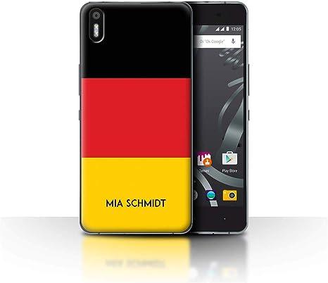 eSwish Personalizado Bandera Nacional Nación Personalizar Funda para el BQ Aquaris X5 / Alemán/Alemania Diseño/Inicial/Nombre/Texto Carcasa/Estuche/Case: Amazon.es: Electrónica