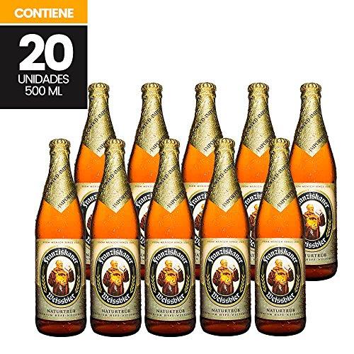 Cerveza Artesanal, Franziskaner Weissbier, 20 unidades de 500ml