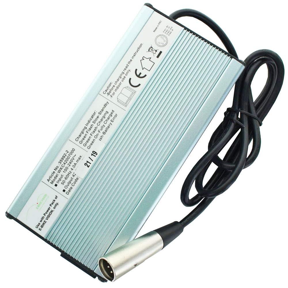 7 A fast-cargador para 36 V baterías e-Bike de Bosch, Panasonic y Gazelle: Amazon.es: Electrónica