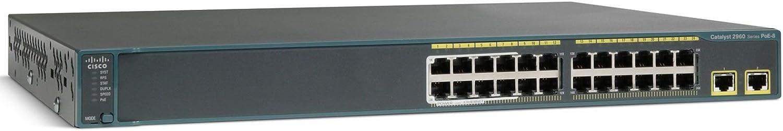 Cisco WS-C2960S-24PD-L 2960 24-PORT Gigabit Catalyst Switch