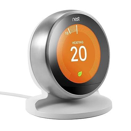 Soporte/Soporte EEEKit para Nest Learning Thermostat, 3ra / 2da generación (Blanco)