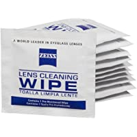 Zeiss Pre-Moistened Lens Cleaning Wipes - Cleans Bacteria, Germs and without Streaks for Eyeglasses and Sunglasses-(100 Count)