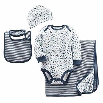 Amazon carters 4 piece baby gift set blue elephant pattern baby carters 4 piece baby gift set blue elephant pattern negle Choice Image