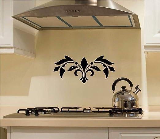 Scroll Embellishments Vinyl Decal Wall Stickers Room Decor Oven Backsplash