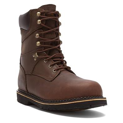 Men's Work Boots/McRae Industrial 8Inch Steel EH Toe LaceUp Dark Brown