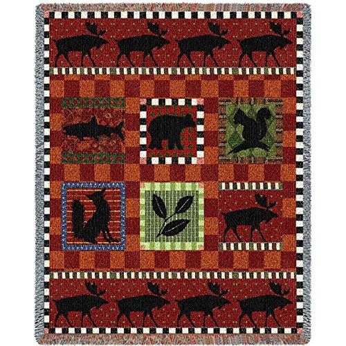 Tapestry Afghan Throw Blanket (Pure Country Weavers