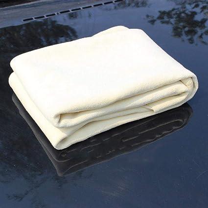 Easy-topbuy Paños de Limpieza de Gamuza Multifunción Toalla Absorbente Fuerte para Lavar Autos para