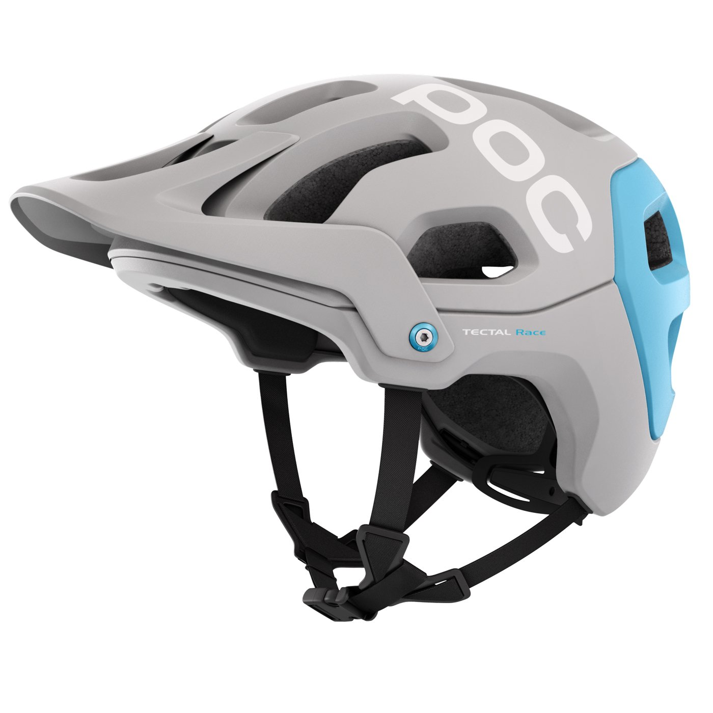 Poc Cylinder Tectal Race Helmet Men Xl Xxl Amazonco Helm Glossy Racing Spirit White Blue Sports Outdoors