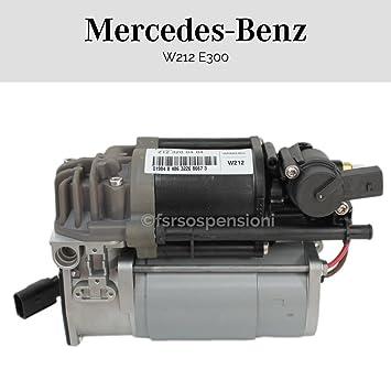 Compresor de aire Suspensión Neumática Mercedes-Benz W212 E300 2123200404: Amazon.es: Coche y moto