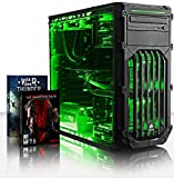 VIBOX Submission 29 - New 4.2GHz Eight 8-Core, GTX 960, Water Cooled, Extreme Performance, Desktop Gaming PC, Computer with Metal Gear Solid V & WarThunder Game Bundle, Neon Green Internal Lighting Kit PLUS a Lifetime Warranty Included* (4.0Ghz (4.2GHz Tu
