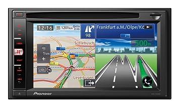 "Pioneer AVIC-F950BT - GPS para coches de 6.1"", mapas de Europa,"