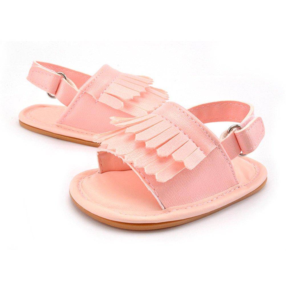 Infant Baby Anti-Slip Soft Shoes Toddler Prewalker Cotton Soles 6-15 Months