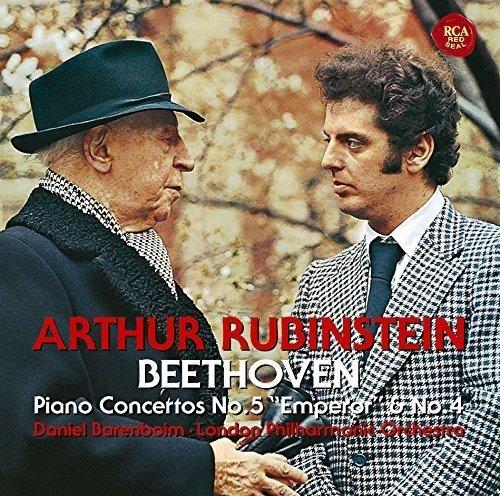 CD : BEETHOVEN / RUBINSTEIN, ARTHUR - Beethoven: Piano Concertos 5 Emperor (Blu-Spec CD 2, Japan - Import)