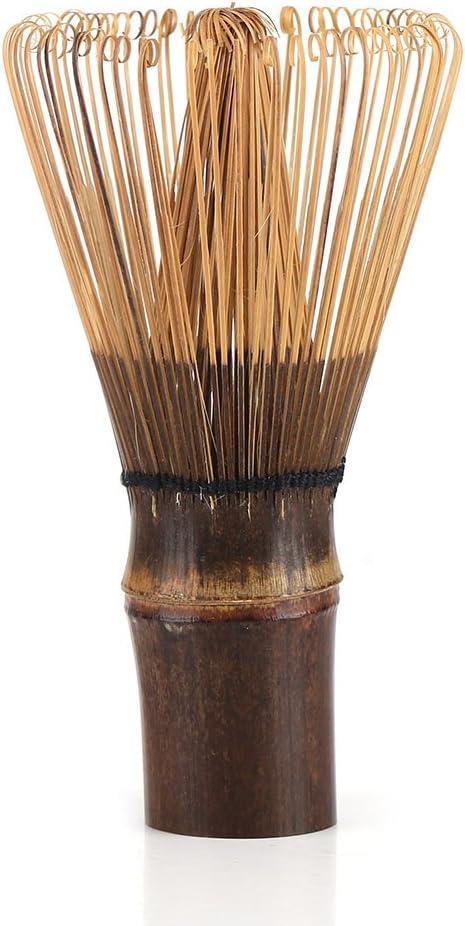 Fdit Chasen Batidor de Bambú Natural Mezclador Artesanal Cepillo en Polvo Herramientas Licuadora para Té Verde o Café