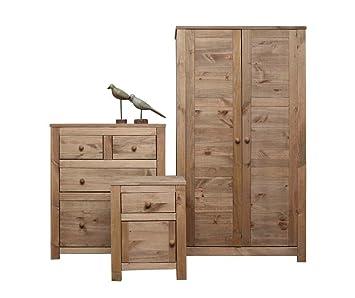 Tremendous Ready Assembled Pine 3 Piece Nordic Bedroom Set No Download Free Architecture Designs Rallybritishbridgeorg
