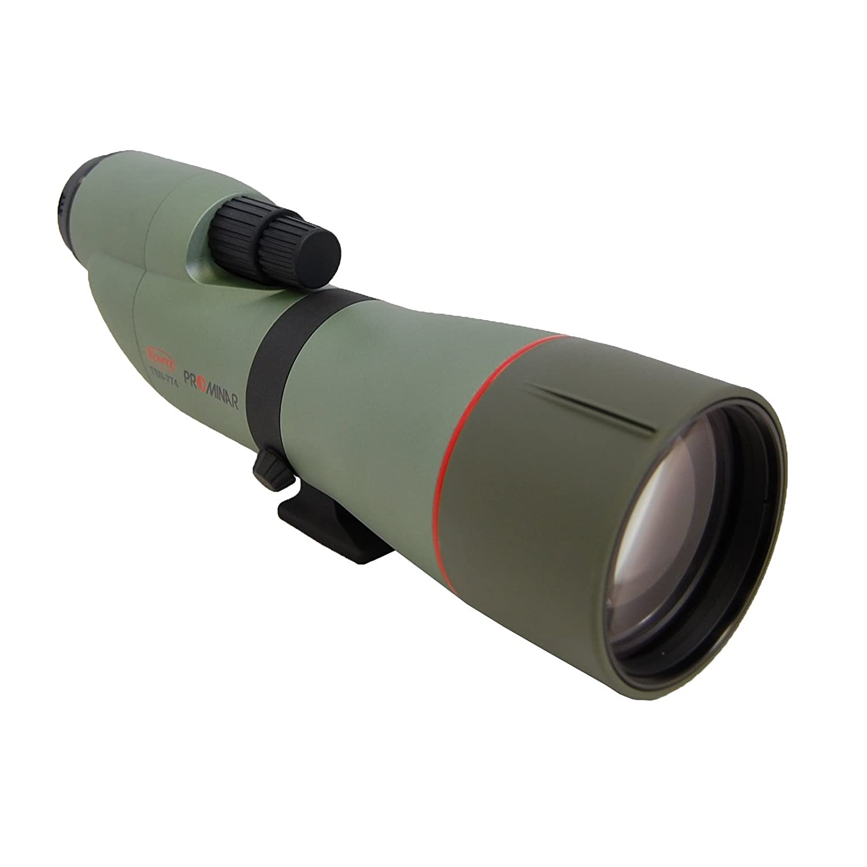 Kowa TSN-770 Series Straight Body High Performance Spotting Scope with PROMINAR XD Lens, 77 mm Green