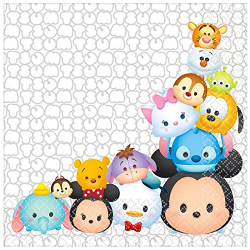 BirthdayExpress Disney Tsum Tsum Party Supplies Lunch Napkins (16)