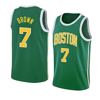 Jaylen Brown #7 Camiseta De Baloncesto De Los Hombres - NBA Boston ...