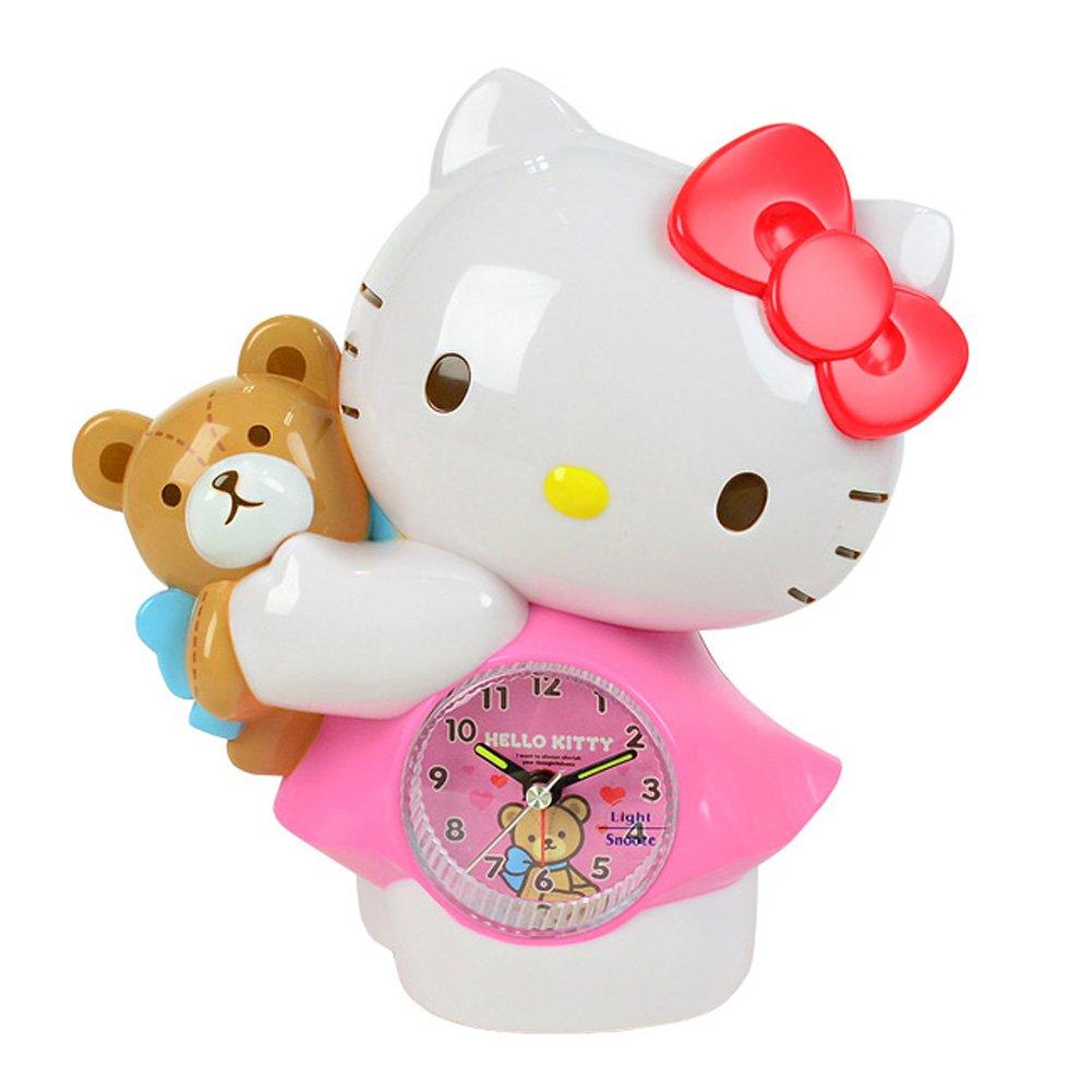 ハローキティデスクやテーブルの目覚まし時計/キッズキャラクター時計/キッズキャラクター時計/アラームクロック/ハローキティウォッチ/日本語の文字/ギフト Hello Kitty Desk and Table Alarm Clock/ Kids Character Clock/ Kids Character Clock/alarm Clock / Hello Kitty Watch / Japanese Characters/ Gift 【並行輸入品】 B01BOUIF7E
