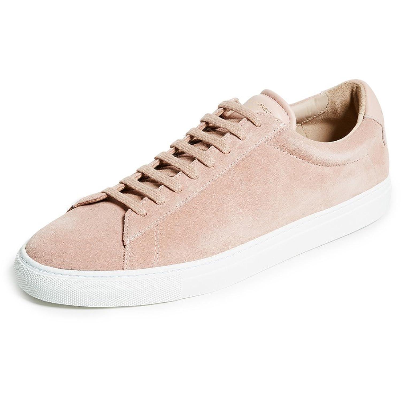 (ゼスパ) Zespa メンズ シューズ靴 スニーカー ZSP4 Suede Leather Sneakers [並行輸入品] B07C83HGZQ