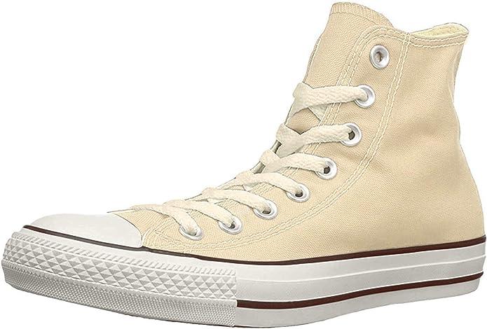 Converse Chucks (Chuck Taylor) All Star High Top Unisex Damen Herren Beige (Elfenbein)