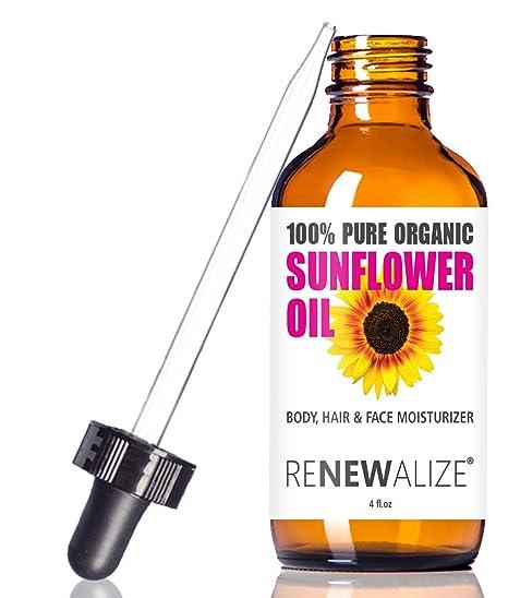 Amazon.com: Aceite de Semillas de girasol orgánico ...
