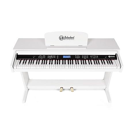 Schubert Subi88P2 Piano digital de pared • 88 teclas sensibles al tacto • 2 pedales •