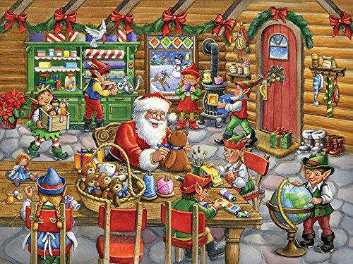 Vermont Christmas Company Santas Workshop Jigsaw Puzzle 550 Piece