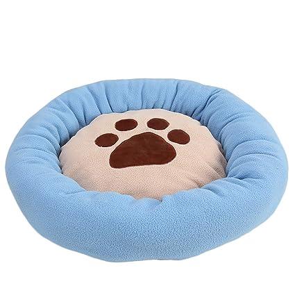 BIGBOBA Cama para Mascotas Redonda a Prueba de Agua Estera del sueño del Perro Perro cálido