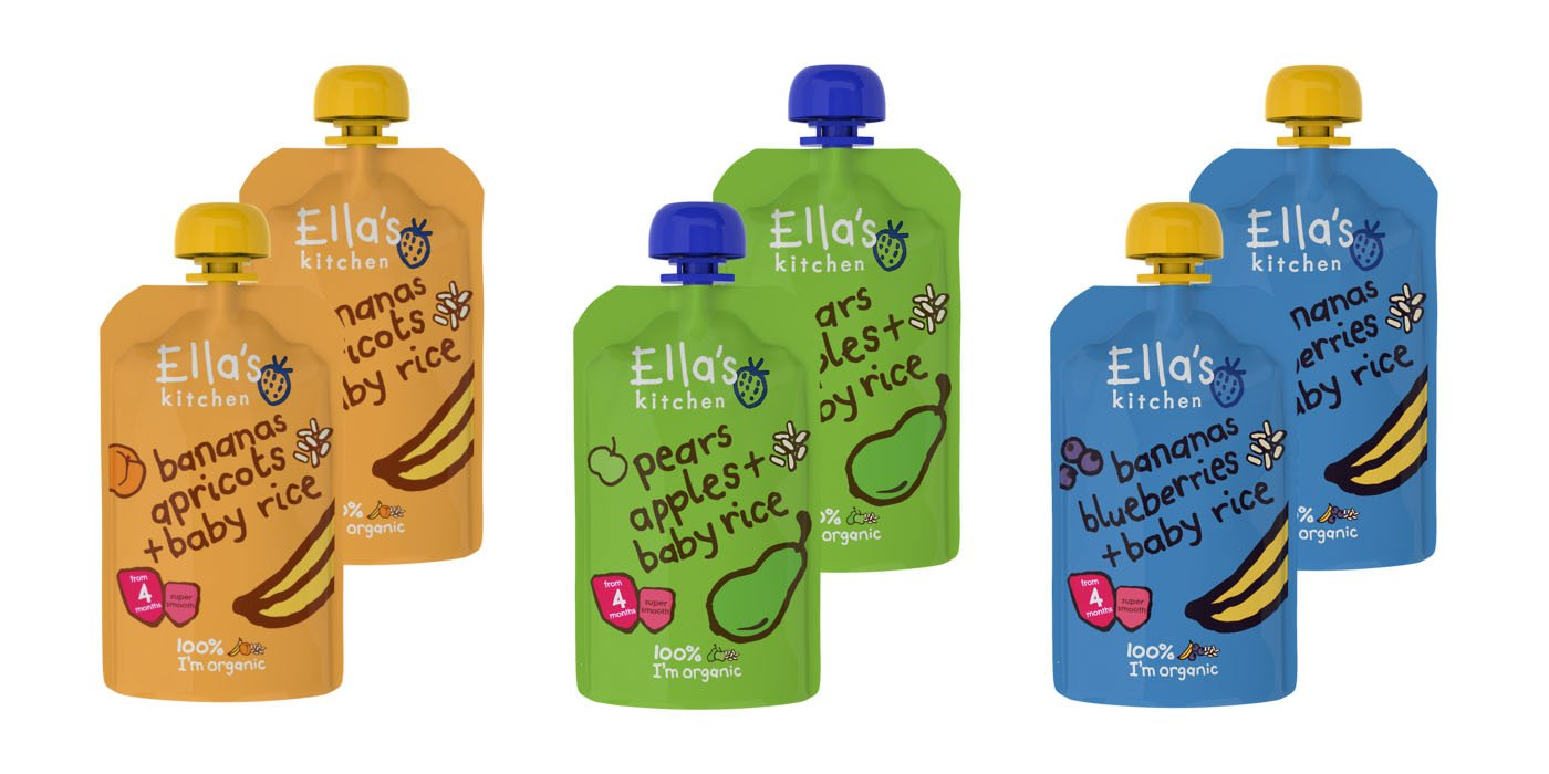 Ellas Kitchen Mixed Case Selections Stage 1, 2, 3 & Smoothie (Stage 1 (11x120g)): Amazon.es: Alimentación y bebidas