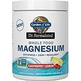 Garden of Life Dr. Formulated Whole Food Magnesium 421.5g Powder, Raspberry Lemon, Chelated Non-GMO Vegan Kosher Gluten…