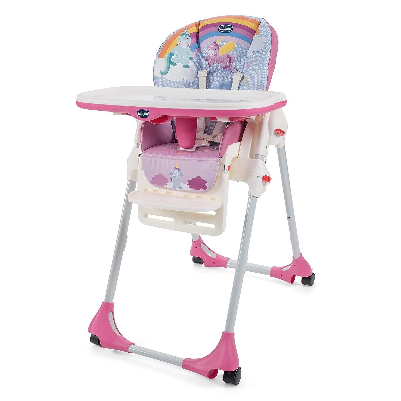Chicco Polly Easy Unicorn Light Travel Highchair 05079565100000