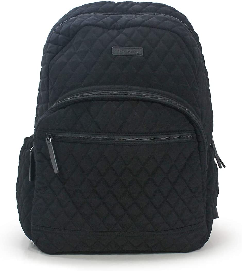 Vera Bradley Classic Black Essential Backpack